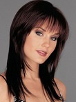 Straight Long Lace Fashionable Remy Human Hair Wig