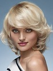 Wavy Capless Admirable Remy Human Hair Wig