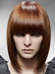 Length Capless Medium Graceful Straight Synthetic Wig