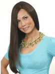 Long Capless Sweet Straight Human Hair Wig