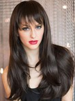 Synthetic Glamorous Straight Capless Wig