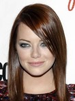 Emma Stone Capless Remy Human Hair Straight Celebrity Wig
