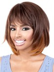 Straight Perfect Synthetic African American Wig