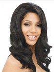 Remy Human Hair Wavy Lace Front Wig For Woman