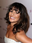 Lea Michele Length Capless Hairstyle Shoulder Wig