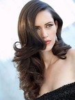 Wavy Long Full Lace Nice Human Hair Wig
