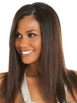 Straight Marvelous Lace Front Human Hair Wig
