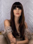 Attractive Straight Human Hair Capless Wig