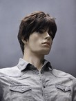 Chic Synthetic Short Straight Mens Wig