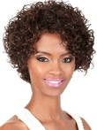 Curly Short Lace Front Human Hair African American Wig