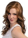 Long Lace Front Most Popular Synthetic Wig With Spiral Wavy