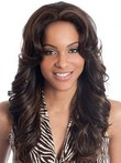 Indian Remy Human Hair Deep Wave Full Lace Wig For Woman
