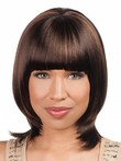Straight Bob Silky Popular Chin Length African American Wig