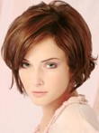 Charming Length Medium Soft Waves Human Hair Wig