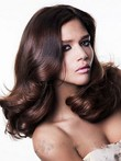 Wavy Glamorous Synthetic Lace Front Wig
