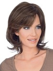 "Luxury 10"" Straight Lace Front Natural Human Hair Wig"