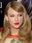 Natural Taylor Swift Charming Hairstyle Wavy Wig