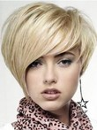 Short Straight Full Lace Celebrity Wig