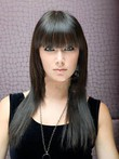 Flattering Long Capless Synthetic Straight Wig