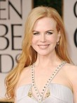 Nicole Kidman's Lace Hairstyle Long Celebrity Wig