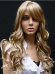 Synthetic Wavy Classic Capless Wig