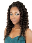Anika Synthetic Long Curly Capless African American Wig