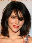 Hairstyle Katherine Mcphee Top Quality Human Hair Wig