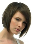 Straight Silky Lace Front Glamorous Remy Human Hair Wig