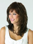 Short Synthetic Pleasant Wavy Capless Wig