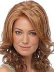 Dazzling Synthetic Lace Front Wavy Wig