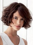 Wavy Remy Human Hair Comfortable Capless Wig