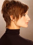 Short Luxury Capless Synthetic Wig