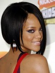 Rihanna Full Lace Straight Short Celebrity Wig