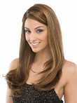 Straight Magnificent Human Hair Lace Front Wig