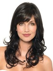 "Wavy 20"" Marvelous Capless Cheap Human Hair Wig"
