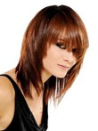 Straight Most Popular Capless Medium Human Hair Wig