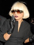 Lady Gaga Capless Short Straight Celebrity Wig For Woman