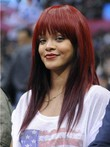 Rihanna Remy Human Hair Long Straight Celebrity Wig