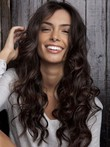Brilliant Wavy Lace Front Synthetic Wig