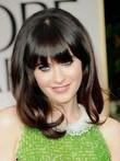 New Hairstyle Zooey Deschanel's Celebrity Wig