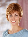 Short Beautiful Sassy Shag Synthetic Wig