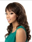 Capless Synthetic Dazzling Wavy Wig