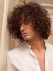 Remy Hair 100% Indian Capless Mens Wig