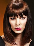 Synthetic Pleasant Straight Capless Wig