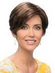 Romantic Pixie Cut Wig With a Smooth