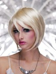 Short Straight Full Lace Bob Style Synthetic Wig
