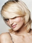 Medium Classic Synthetic Length Capless Wig