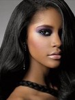 Durable Straight Human Hair Lace Front Wig