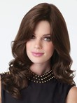 Soft Lace Front Wavy Remy Human Hair Wig For Woman