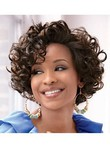 Lace Front Wavy African American Wig
